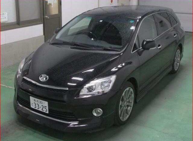 2012 Toyota Mark X Zio Aerial Prospective Motors Cars