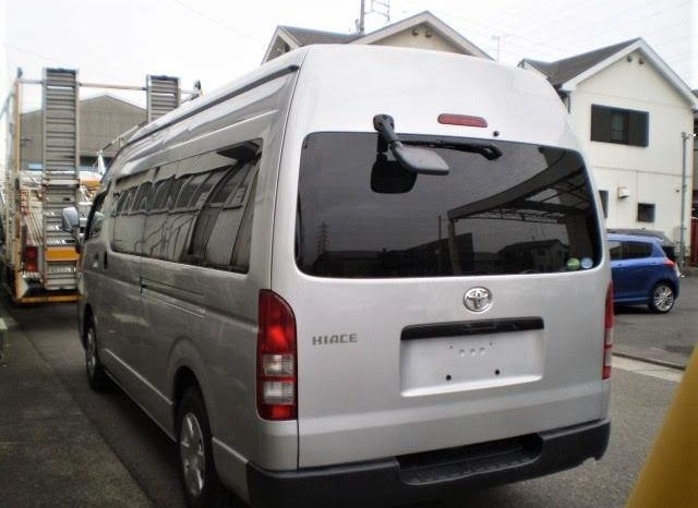 2014 TOYOTA HIACE HIGH TOP LONG/WIDE full