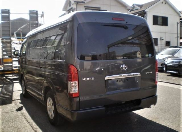 2015 TOYOTA HIACE SUPER GL/WIDE full